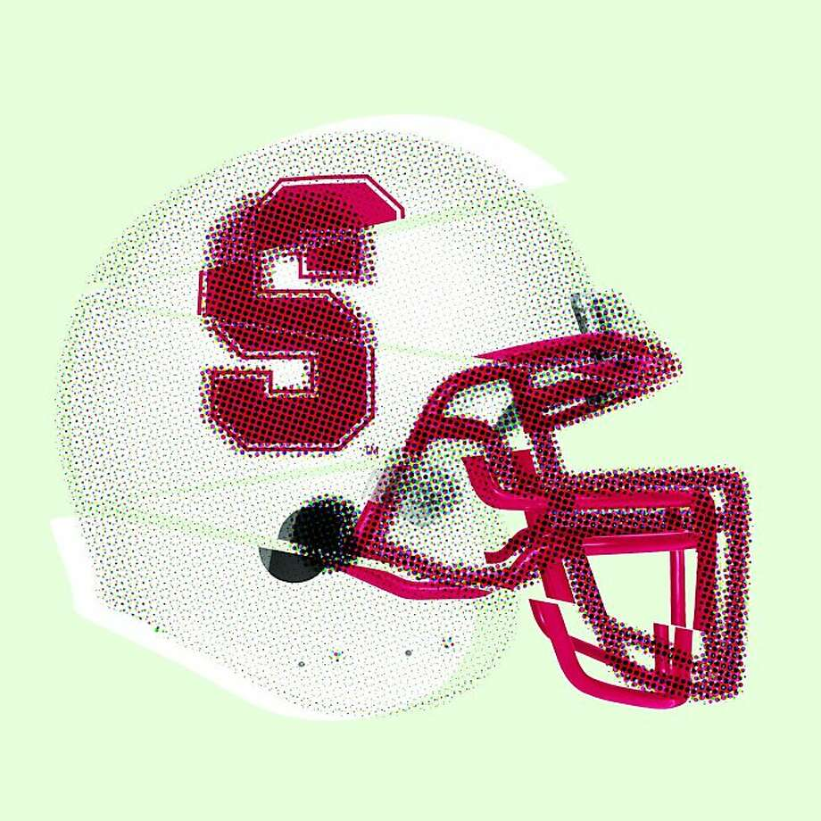 Stanford football helmet illustration Photo: Erick Wong, The Chronicle; Istockphoto.com