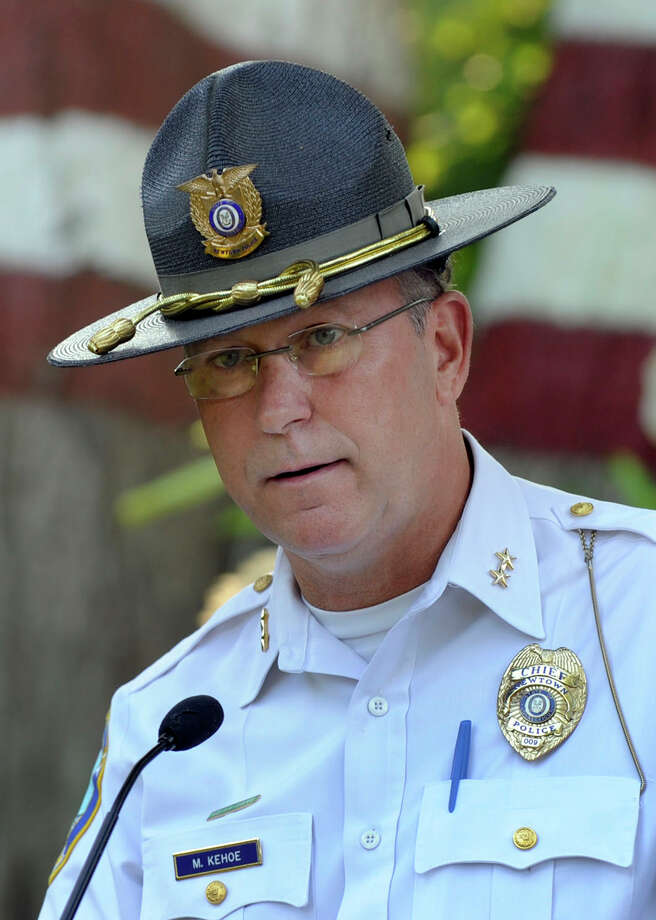 Newtown Police Chief Michael Kehoe Photo: Carol Kaliff / The News-Times