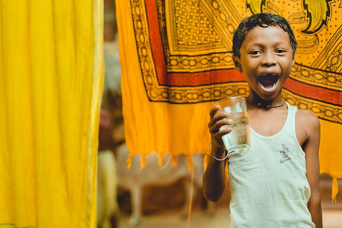 Charity: Water, a non-profit, received a Google Global Impact Award for its plan to use real-time water sensors to expand access to clean water. Featured is a charity: water recipient from Orissa, India.