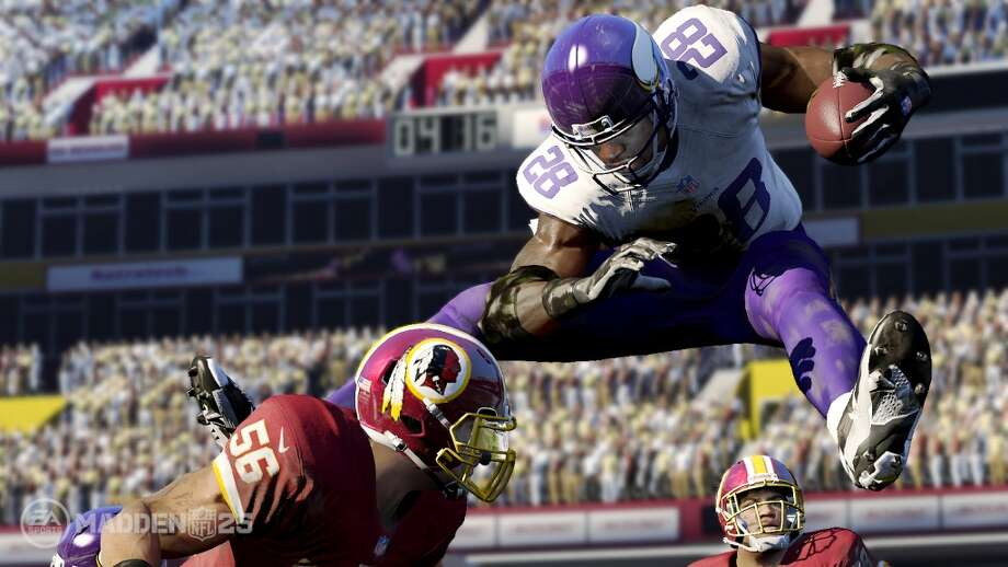 No. 10: Madden NFL 25 Electronic Arts Sports Xbox 360 Sports Weekly units sold: 27,566 Total units sold: 801,816 Weeks available: 6 Photo: EA Sports
