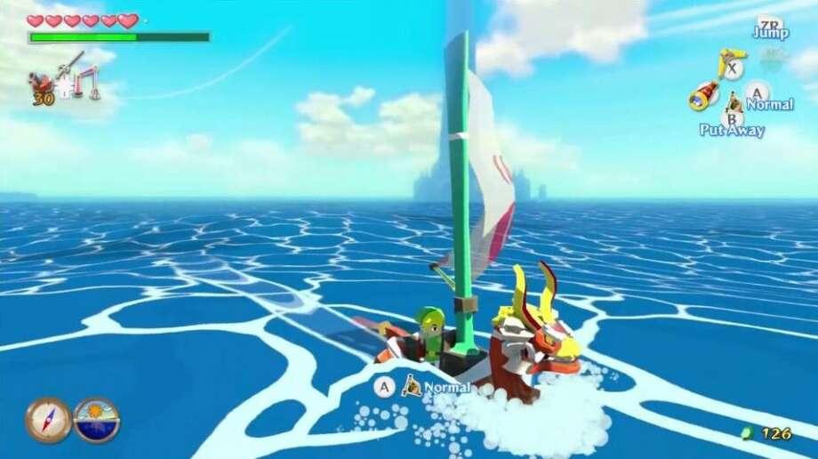 No. 5: The Legend of Zelda: The Wind Waker (HD) Nintendo Wii U Action-adventure Weekly units sold: 152,371 Total units sold: 152,371 Weeks available: 1 Photo: Nintendo
