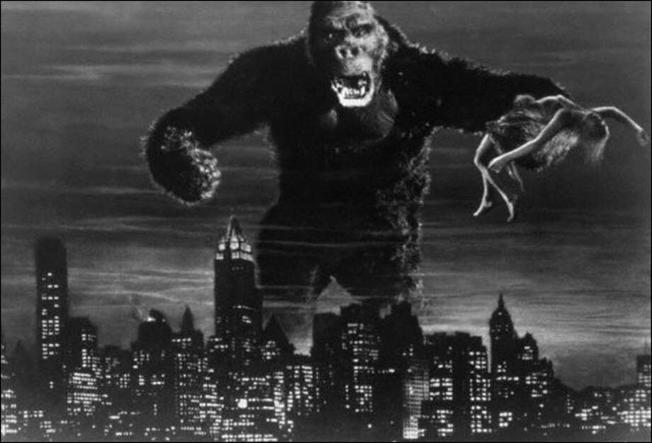 """King Kong."" No great performances, but five of the six are here.  Classic?  Yes. Photo: RKO Pictures, SFC / Chronicle"
