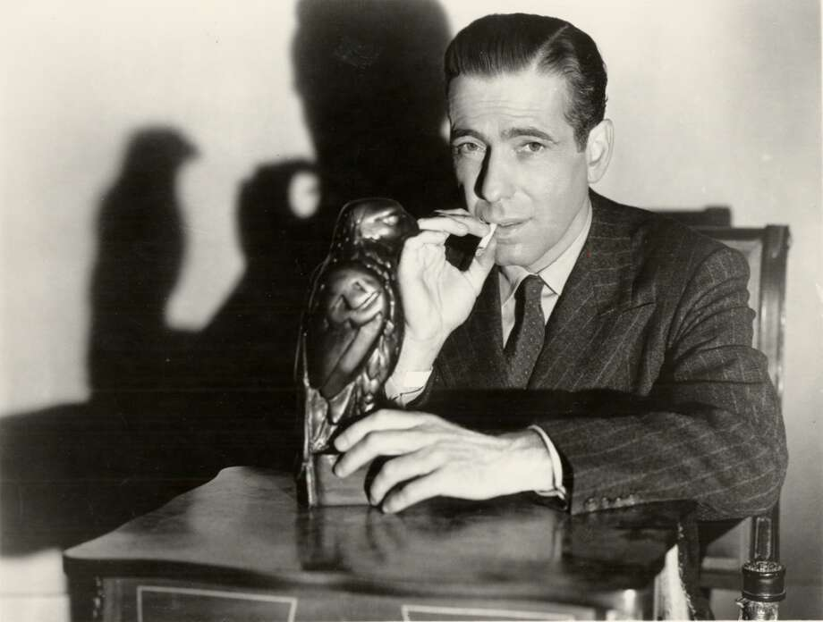 """Humphrey Bogart starred in """"The Maltese Falcon."""" Not topical. Not timeless. Not great, but signature performances from Bogart, Greenstreet and Lorre. One or two memorable scenes. Overarching consciousness? No real complexity though it probably seemed so at the time. Classic?  Apparently, though I think it's just a good to very good movie. Photo: HANDOUT, SFC"""