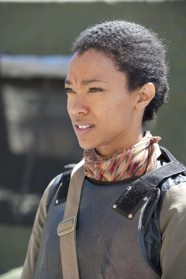 Sasha (Sonequa Martin-Green) - The Walking Dead _ Season 4, Episode 1 - Photo Credit: Gene Page/AMC