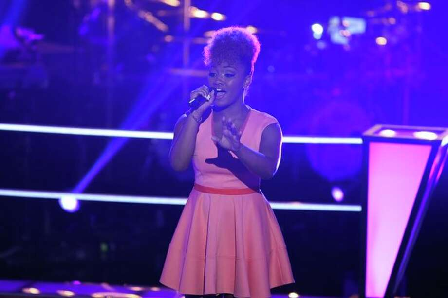 """THE VOICE -- """"Battle Rounds"""" Episode 507 -- Pictured: Amber Nicole -- (Photo by: Justin Lubin/NBC) Photo: Justin Lubin/NBC / 2013 NBCUniversal Media, LLC"""