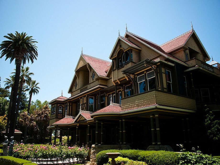 Winchester Mystery House: still a mystery of doors that open onto walls and labyrinthine construction, a flashlight tour around Halloween will spook the staunchest skeptic. Photo: Flickr: HarshLight
