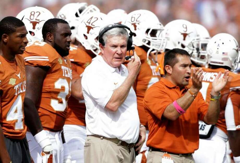 Mack Brown enjoys emphatic win over OU.  But does it change his hot seat status at season's end?