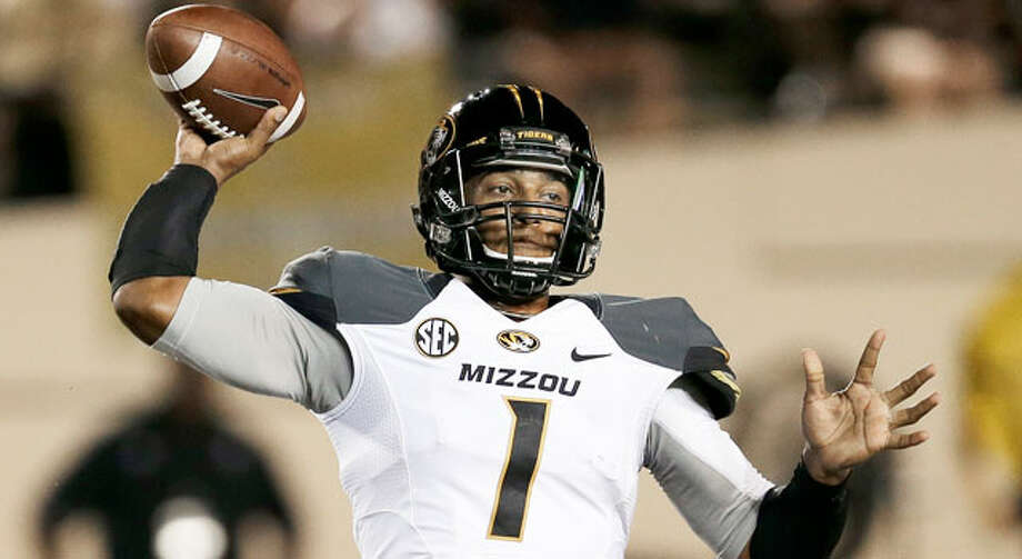 Mizzou takes huge hit losing James franklin, the quarterback during huge road win at Georgia. Photo: Mark Humphrey