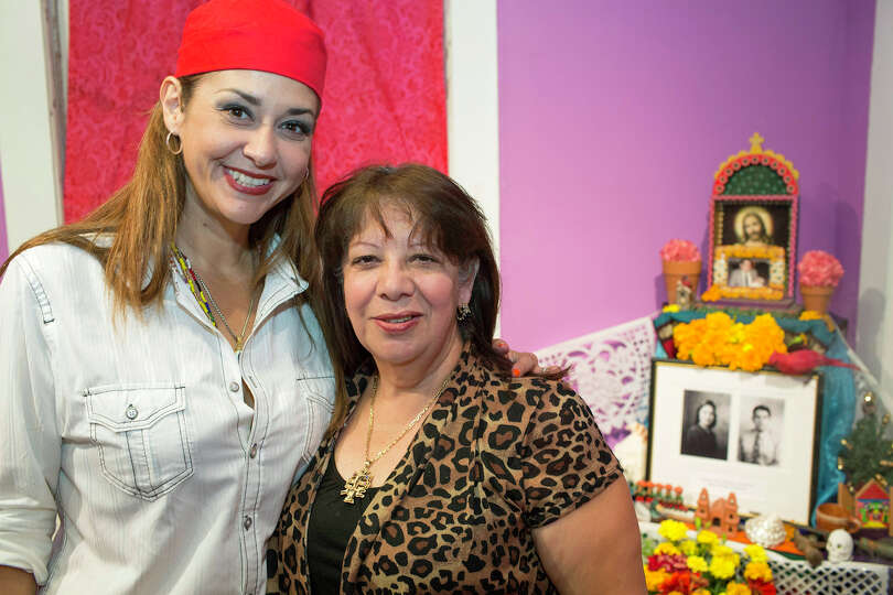 From the left, Gina Saucedo and Rose Martinez during the Esperanza Peace & Justice Center Annual Cel