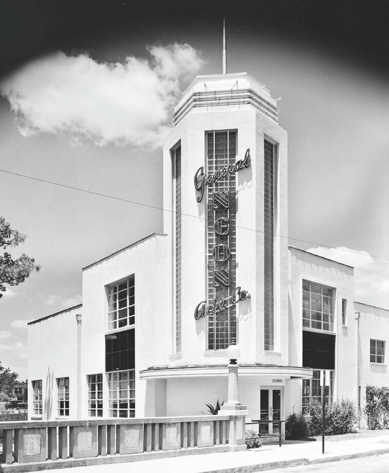 "The demolished headquarters of General Neon Advertising, which was at 101 Lexington in San Antonio, is featured in the new coffee-table book ""Hill Country Deco: Modernistic Architecture of Central Texas"" from TCU Press.