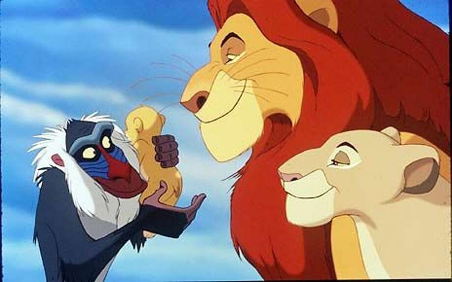 June 15, 1994:The Lion King won three Golden Globes, two Grammy Awards and two Academy Awards (IMDB). Photo: Disney