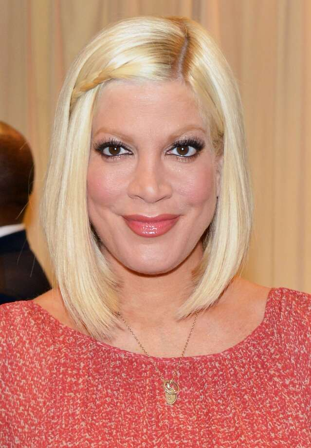 Now: Tori Spelling has released six books. Photo: Slaven Vlasic, Getty Images