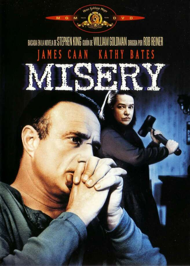 "88% Fresh: Misery, 1990Kathy Bates won an academy award for her starring role in ""Misery,"" a psychological horror film directed by Rob Reiner and co-starring James Caan. Photo: Contributed Photo"