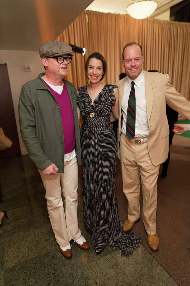 Peter Getty, Shannon Bavaro and Geoff Callan at The Green Gatsby, the 9th annual Gorgeous & Green Gala, which took place on October 11, 2013. Photo: Drew Altizer Photography / © 2013 Drew Altizer