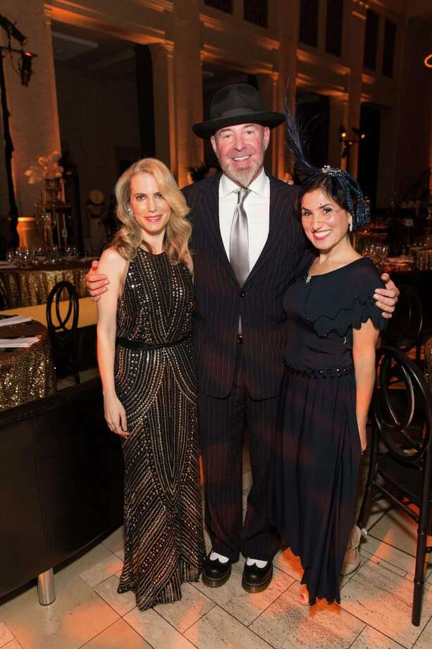 Nadine Weil, Christopher Bently and Zem Joaquin at The Green Gatsby, the 9th annual Gorgeous & Green Gala, which took place on October 11, 2013. Photo: Drew Altizer Photography / ©2013 Drew Altizer