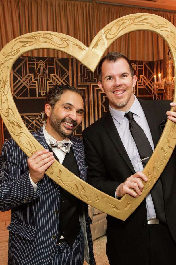 James Joaquin and Steve Connell at The Green Gatsby, the 9th annual Gorgeous & Green Gala, which took place on October 11, 2013. Photo: Drew Altizer Photography / ©2013 by Drew Altizer, all rights reserved