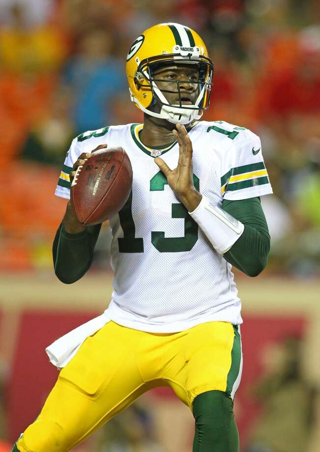 Vince Young  Age: 30 Career record as a starter: 31-19 in six seasons Touchdowns/Interceptions: 46/51 Passing yards: 8,964 Rushing yards: 1,459 (12 TDs)  Released by the Packers in the preseason, the former Madison High and UT star hasn't played in a regular-season game since the 2011 season. Photo: Jay Biggerstaff, Associated Press