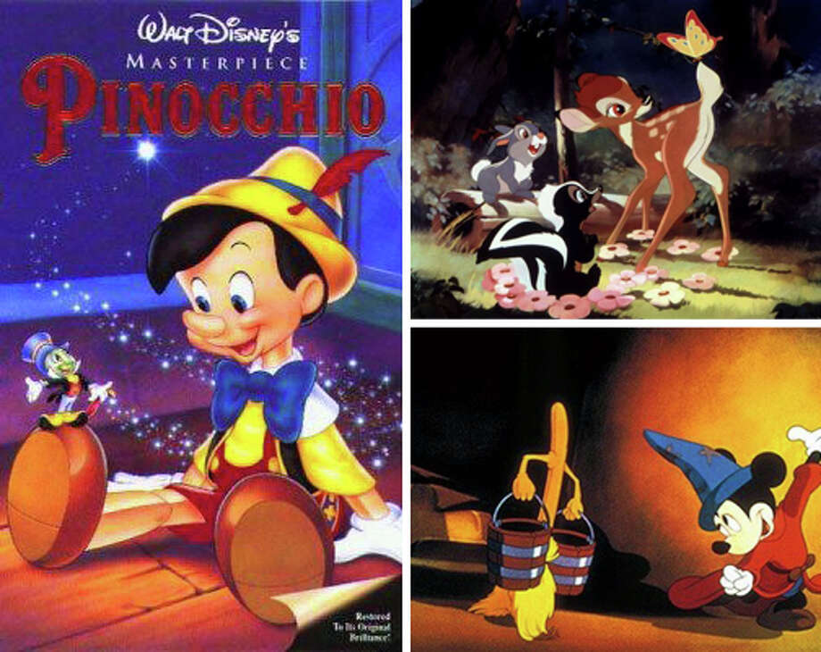 Early 1940s:Disney continued releasing successful animated movies including Pinocchio (1940), Fantasia (1940), Dumbo (1941), Bambi (1942). Photo: Disney