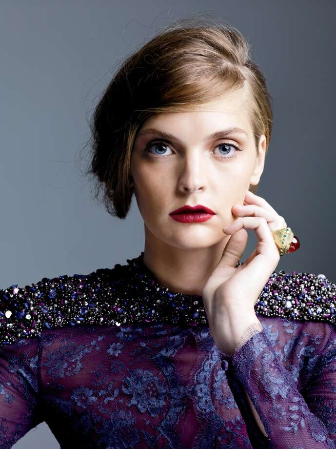 The third step in Saks Fifth Avenue's fall beauty trends is an ombre lip.