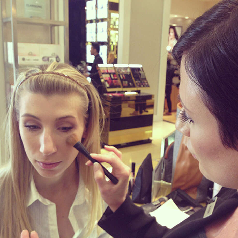 Maggie Winterfeldt explores Saks Fifth Avenue's fall beauty trends with Giorgio Armani Beauty.