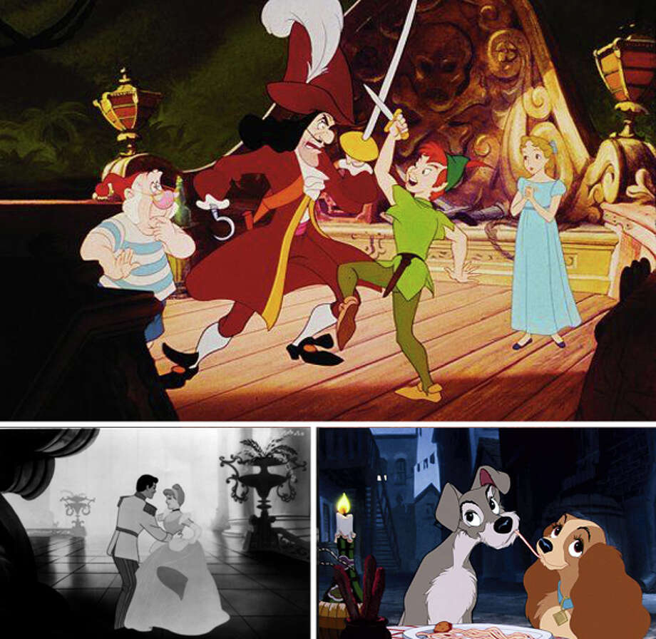 1950s:Disney returned to creating animated films including Cinderella (1950), Alice in Wonderland (1951), Peter Pan (1953) and Lady and the Tramp (1955).The company also released its first live action movie, Treasure Island, in 1950. (thewaltdisneycompany.com) Photo: Disney