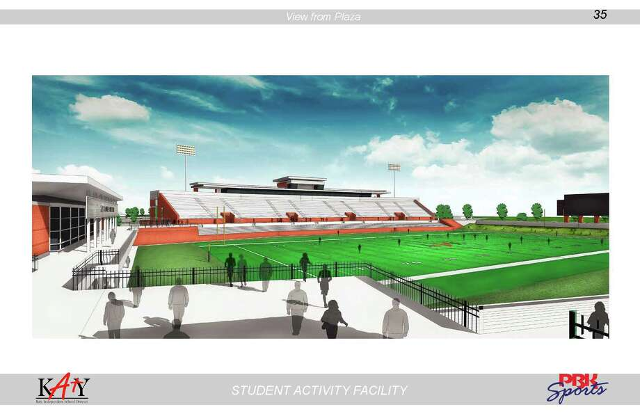 A 14,000-seat stadium is one item in the Nov. 5 Katy Independent School District bond election.
