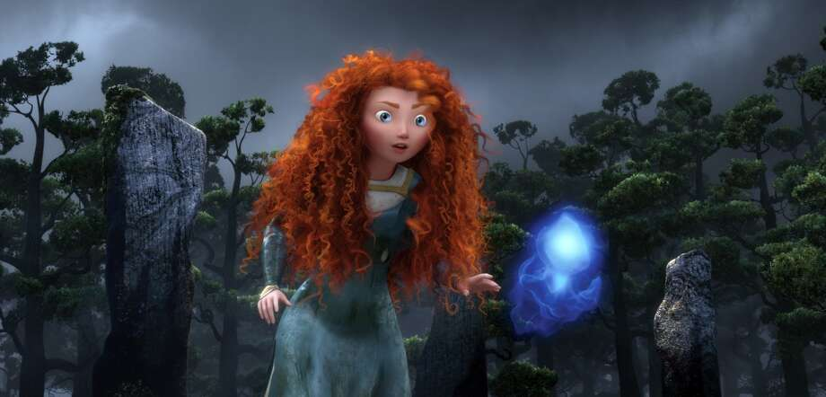 "Merida, the princess in ""Brave,"" was voiced by... Photo: Pixar, Associated Press"