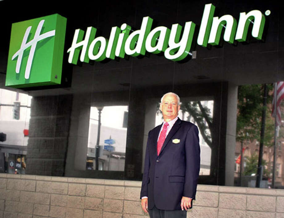 The former manager of the Bridgeport Holiday Inn, William McGarry, claims he was fired for refusing to raise room rates for people seeking shelter from the effects of Hurricane Sandy. Photo: Contributed Photo / Connecticut Post Contributed