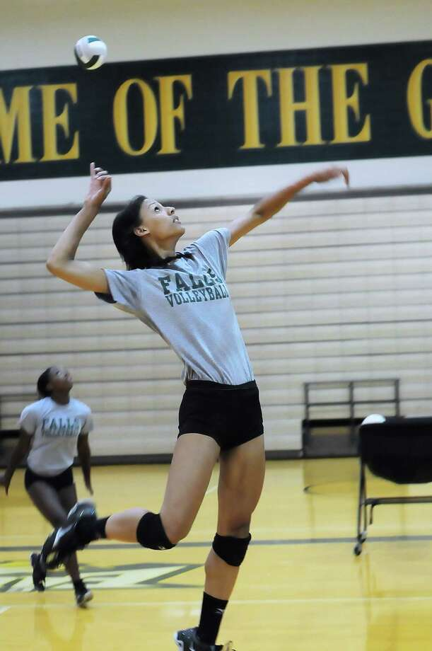 Cy Falls volleyball player Shae Chapman and the Golden Eagles take on Cy Woods on the road Friday. Photo: Â Tony Bullard 2013, Freelance Photographer / © Tony Bullard & the Houston Chronicle