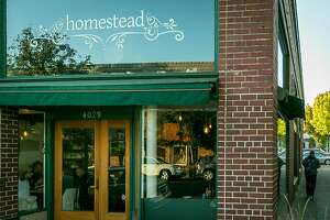 The exterior of Homestead in Oakland, Calif., is seen on Thursday, October 10th, 2013.