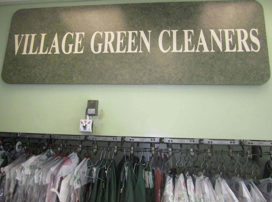 The Bagley family has operated the Village Green Cleaners at its present 47 Main Street home in New Milford since 1973. Photo: Norm Cummings / The News-Times