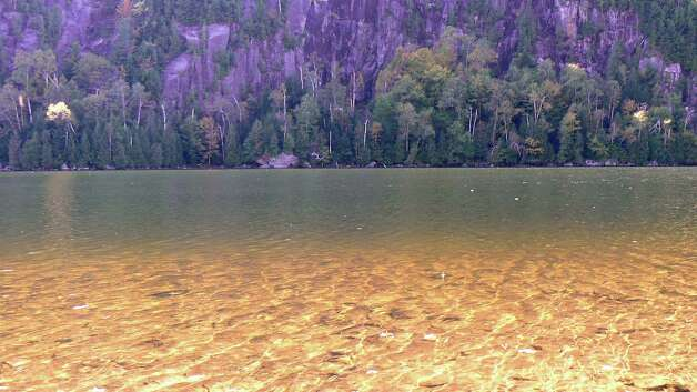 """Rada Trifunovic of Clifton Park snapped a photo of Keene Valley's Chapel Pond along Route 73 in the Adirondacks. It was taken on the way to Whiteface Mountain. """"(It's) one of many beautiful sights in Upstate New York,"""" Trifunovic said. (Rada Trifunovic)"""