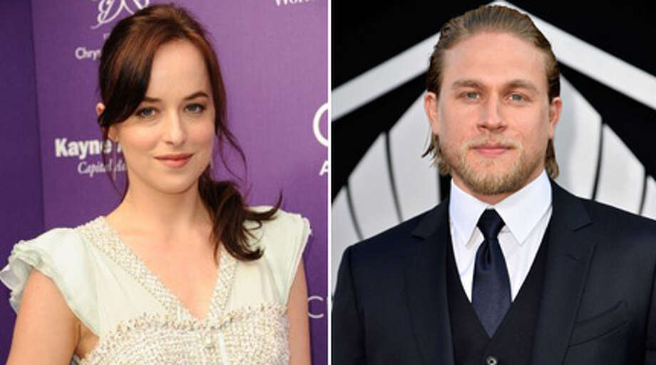 Just a few weeks ago, the kinky couple looked like this:  Dakota Johnson. and Charlie Hunnam