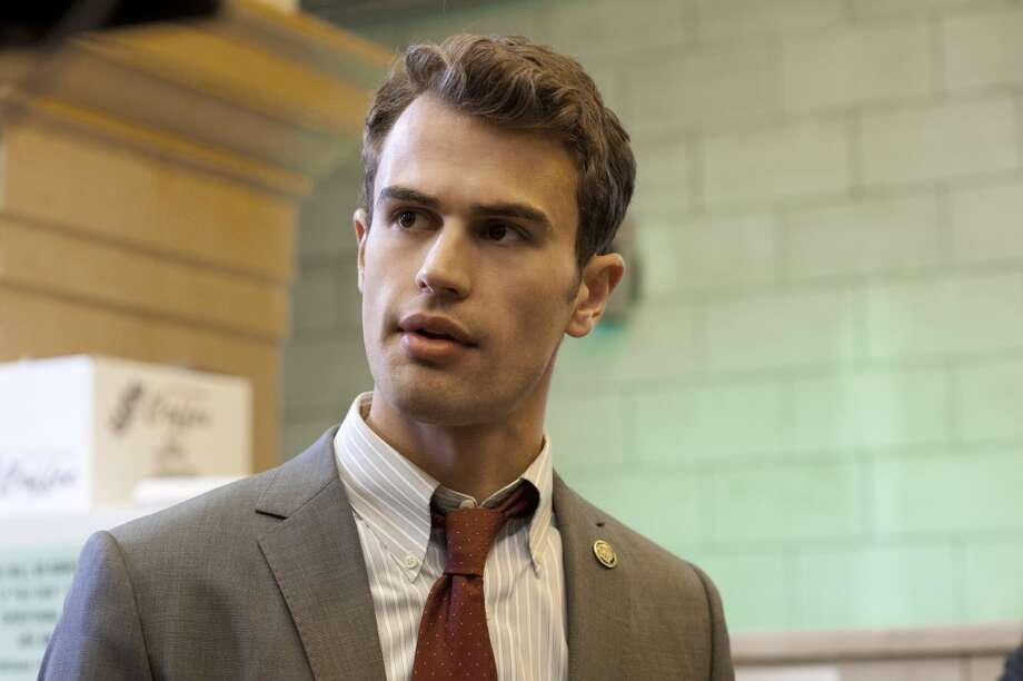 "Theo James is a newer name mentioned in connection with ""Fifty Shades."" He's pictured from a police drama called ""Golden Boy."" Photo: JoJo Whilden, CBS"
