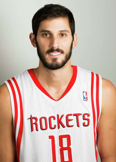 Houston Rockets forward Omri Casspi during media day at Toyota Center on Friday, Sept. 27, 2013, in Houston. ( Smiley N. Pool / Houston Chronicle ) Photo: Smiley N. Pool, Staff / © 2013  Houston Chronicle