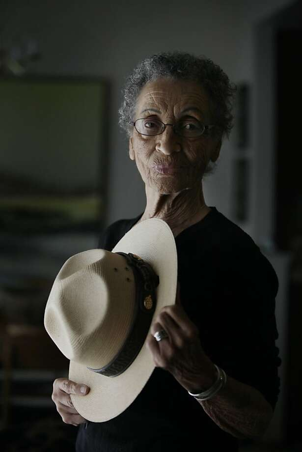 At 92, Betty Reid Soskin is not only the oldest National Park Service ranger, she's also one of the few historians who lived the events she talks about. Photo: Lea Suzuki, The Chronicle