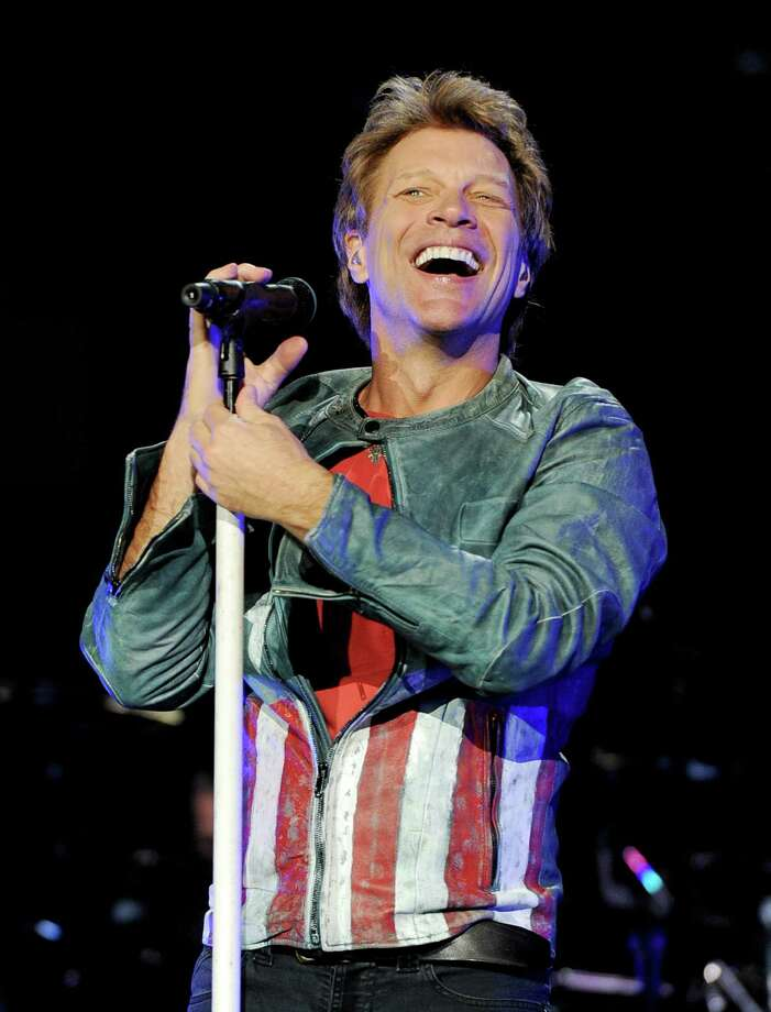 FILE - Bon Jovi will perform in San Antonio on March 22. Tickets go on sale Jan. 19. Photo: Kevin Winter, Getty Images / 2013 Getty Images