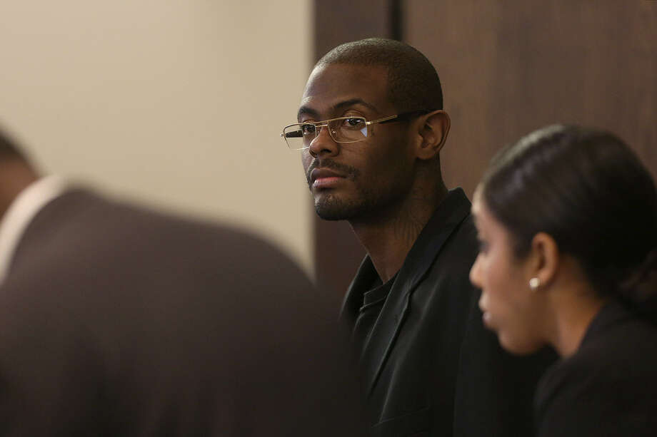 "Bernard ""B.J."" Brown was accused by co-defendants of being the triggerman in a 2010 slaying. Photo: Lisa Krantz, San Antonio Express-News"