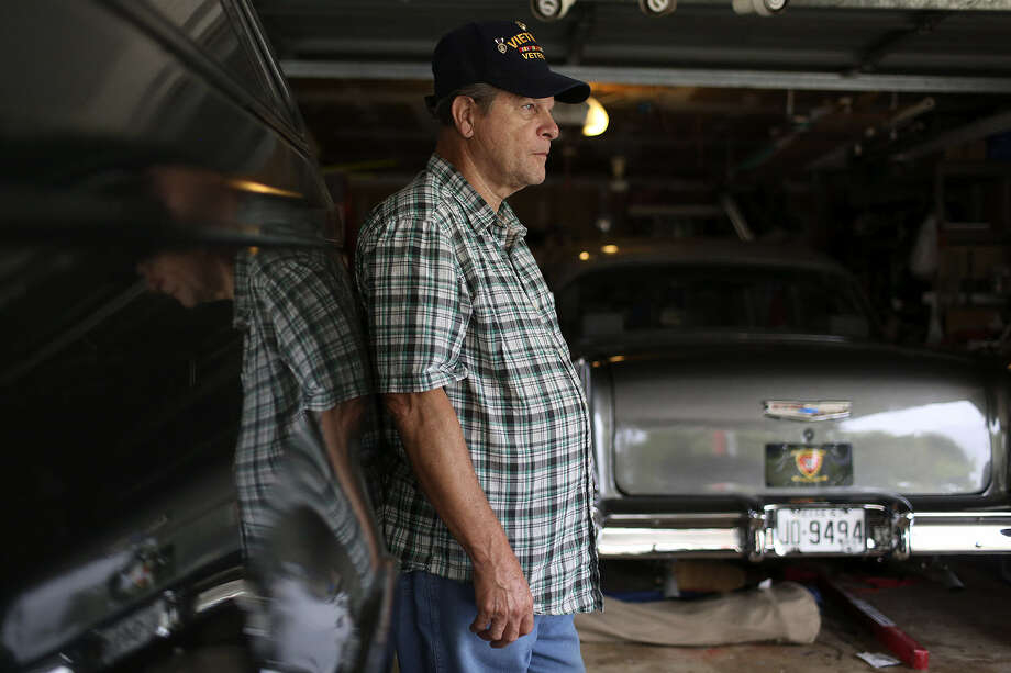 "Vietnam vet Stan Sellers says if the U.S. defaults, ""Come the first ... I will be flat out of money because I live month-to-month."" Photo: Lisa Krantz / San Antonio Express-News"