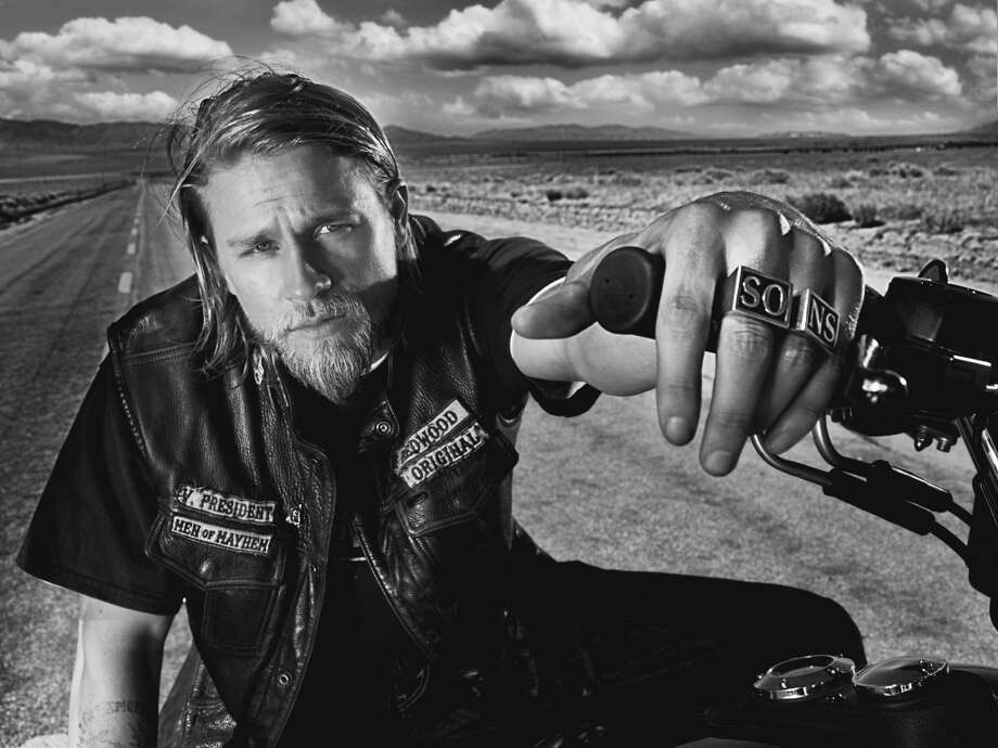 "English actor Charlie Hunnam, who stars in ""Sons of Anarchy,"" had said his TV schedule conflicted with the filming of ""Fifty Shades."" Photo: FX"