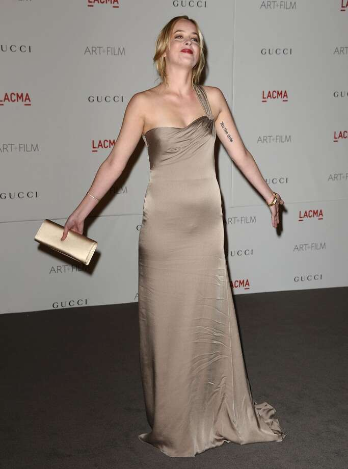 Actress Dakota Johnson attends the LACMA inaugural Art + Film Gala at LACMA on November 5, 2011 in Los Angeles, California.  (Photo by Jason LaVeris/FilmMagic) Photo: Jason LaVeris, FilmMagic