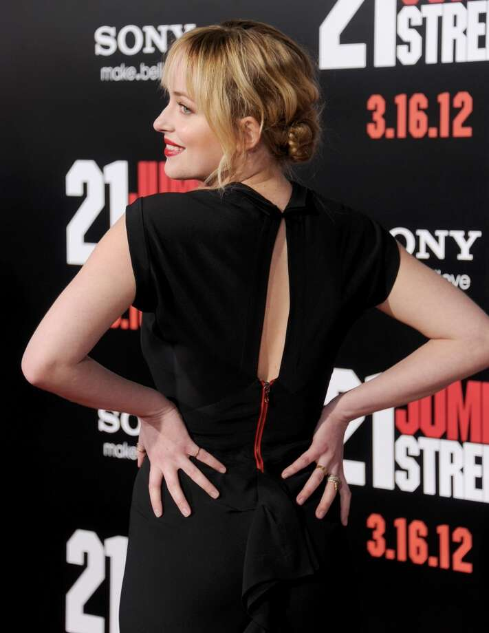 "Actress Dakota Johnson arrives at ""21 Jump Street"" Los Angeles Premiere at Grauman's Chinese Theatre on March 13, 2012 in Hollywood, California.  (Photo by Gregg DeGuire/FilmMagic) Photo: Gregg DeGuire, FilmMagic"