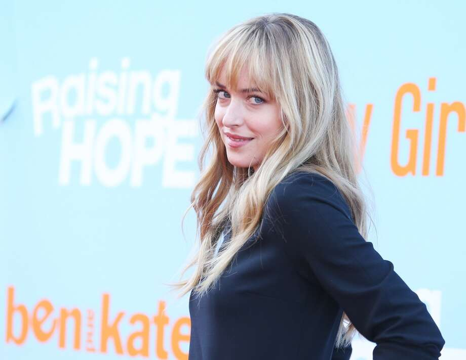 Dakota Johnson arrives at the New FOX Tuesday screening event held at The Broad Stage on August 26, 2012 in Santa Monica, California.  (Photo by Michael Tran/FilmMagic) Photo: Michael Tran, FilmMagic