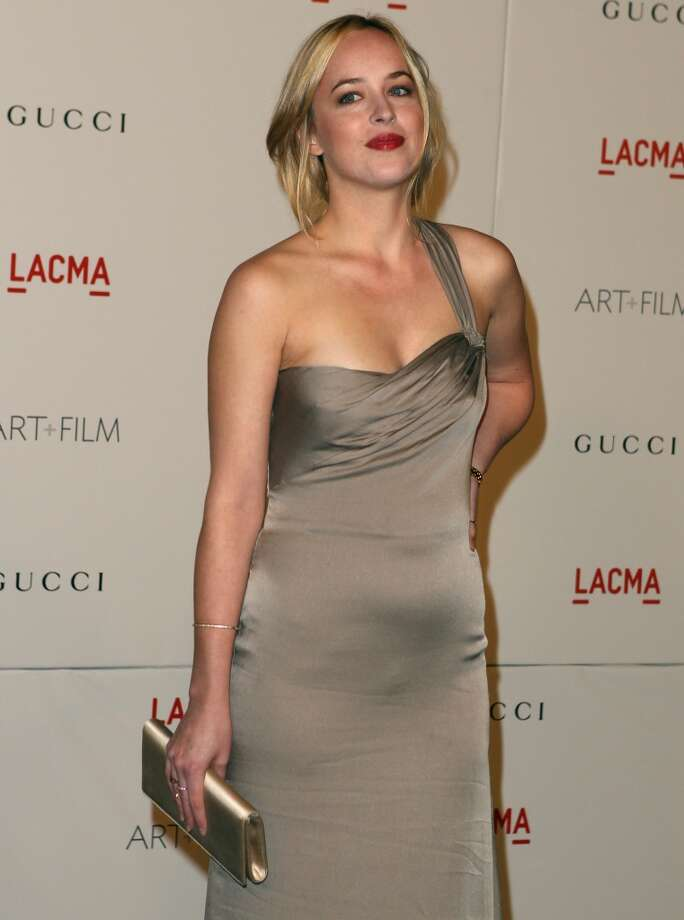 Dakota Johnson attends LACMA Art + Film Gala Honoring Clint Eastwood and John Baldessari Presented By Gucci at Los Angeles County Museum of Art on November 5, 2011 in Los Angeles, California.  (Photo by Paul A. Hebert/Getty Images) Photo: Paul A. Hebert, Getty Images