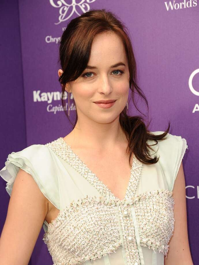 Actress Dakota Johnson attends the 12th annual Chrysalis Butterfly Ball on June 8, 2013 in Los Angeles, California.  (Photo by Jason LaVeris/FilmMagic) Photo: Jason LaVeris, FilmMagic