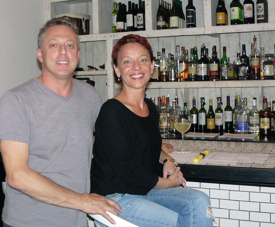 Henri Donneaux and wife Ivanina have transformed their former restaurant, Cafe Lola on Unquowa Road, into the new Grilled Cheese Eatery.  FAIRFIELD CITIZEN, CT 10/15/13 Photo: Gretchen Webster / Fairfield Citizen contributed