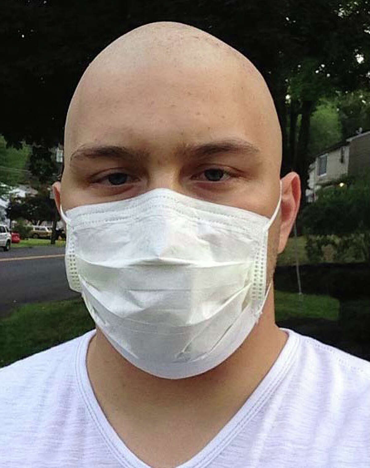 A classic car and bike show fundraiser will be on Sunday, Oct. 20, to help Joseph LaDuca, 24, a volunteer firefighter in Danbury who is battling brain cancer. LaDuca, shown here, has had to put college and work on hold while trying to regain his health. The five-hour event will be outside Nico's Pizza & Pasta at 175 Main St. in Danbury.