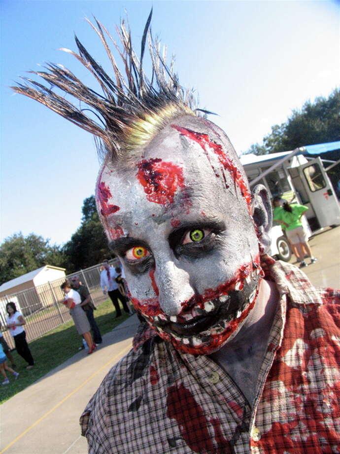 Eli Self at Zombie Walk, Oct. 22, 2011 Photo: Jordan Graber