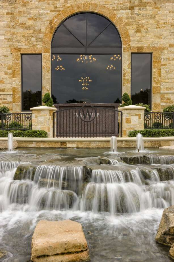 A water feature on the funeral home grounds at Memorial Oaks. Photo: Courtesy Of Dignity Memorial