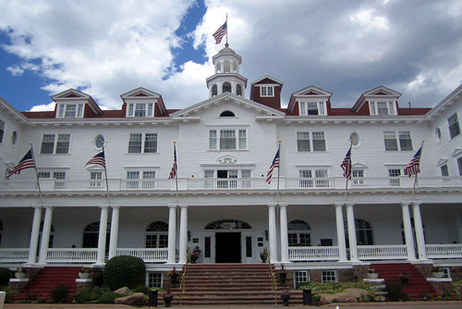 "The Shining: The Stanley Hotel was never featured in a scary movie, but the Colorado hotel helped inspire Stephen King's novel ""The Shining."" King spent a single night at the hotel, and it helped him develop the idea of the horror flick. (Photo: Wallyg, Flickr) Photo: (Photo: Wallyg,  Flickr)"